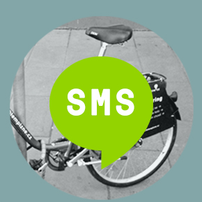 No smartphone? Use our SMS interface!